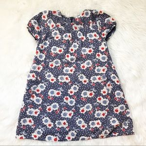 Mini Boden Floral Fully-Lined Dress 5-6Y